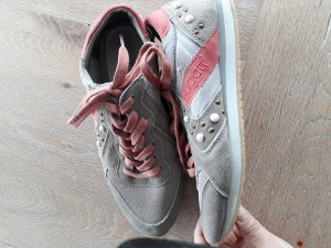 Bugatti Lace-Up Sneaker beige-salmon