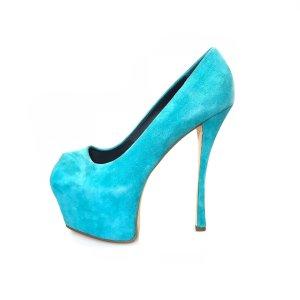 Turquoise Giuseppe Zanotti High Heel