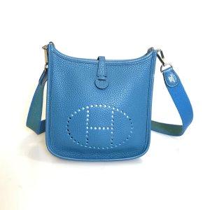 Turquoise Hermes Cross Body Bag