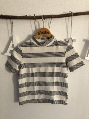 Zara Trafaluc Turtleneck Shirt cream-black