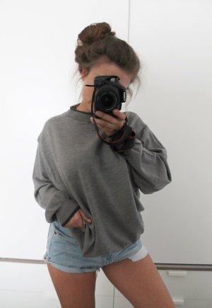 turtleneck pullover, grau