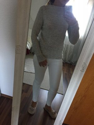 Turtleneck Pullover in Grau