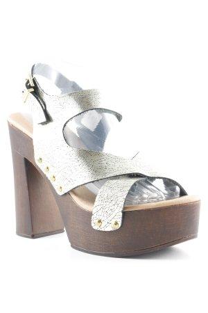 Tuva&Linn Platform Sandals multicolored elegant