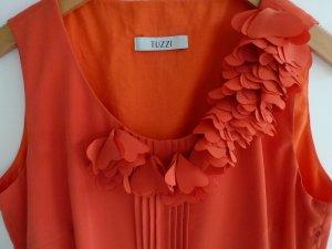 Tuzzi Damen Sommerkleid Gr. 38 orange