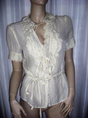 TUZZI   Designer Bluse beige Gr 38  neuwertig