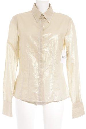 Tuzzi Hemd-Bluse goldfarben Elegant