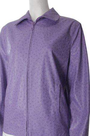 Tuzzi Jacke flieder abstrakter Druck klassischer Stil