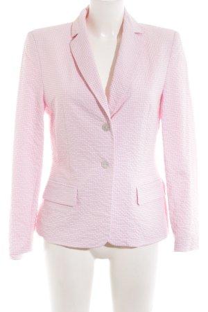 Tuzzi Kurz-Blazer pink Karomuster Business-Look