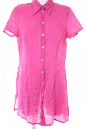 Tuzzi Kurzarm-Bluse pink Casual-Look