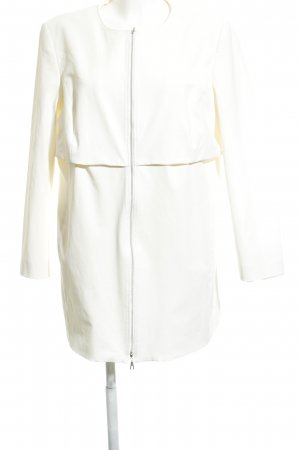 Tuzzi Abrigo corto blanco elegante
