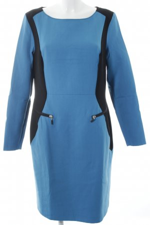 Tuzzi Langarmkleid blau-schwarz Elegant