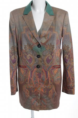 Tuzzi Long-Blazer florales Muster Brit-Look