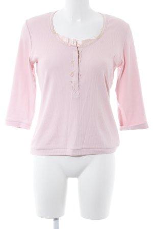 Tuzzi Rippshirt creme-rosé Casual-Look
