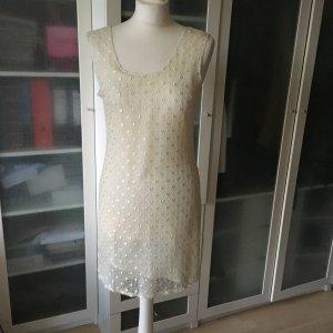 Tuzzi Spitzen Kleid mit Unterkleid Gr. 36
