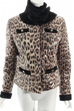 Tuzzi Steppjacke graubraun-schwarz Leomuster Safari-Look