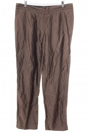 Tuzzi Jersey Pants bronze-colored casual look