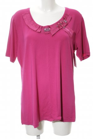 Tuzzi T-Shirt pink Casual-Look