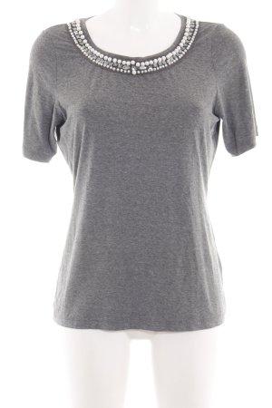 Tuzzi T-Shirt silberfarben meliert Casual-Look
