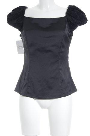 Tuzzi T-Shirt schwarz Elegant