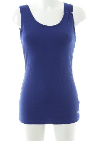 Tuzzi Tanktop blau Casual-Look