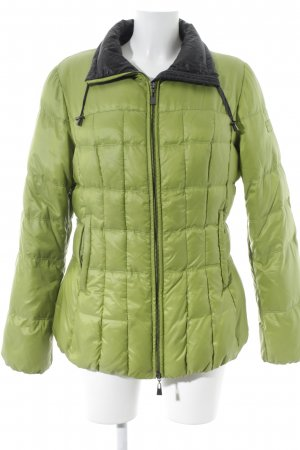 Tuzzi Winterjacke grasgrün Steppmuster sportlicher Stil