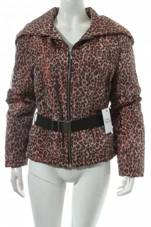 Tuzzi Winterjacke Leomuster Animal-Look