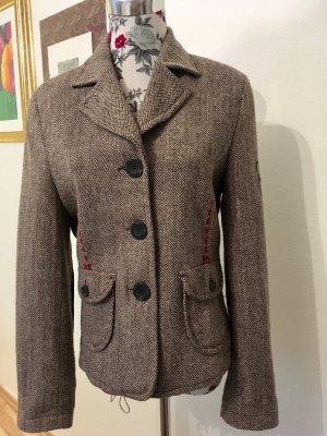 More & More Blazer en tweed multicolore