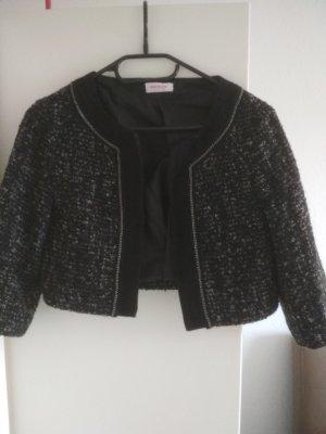 Tweed Blazer/ Bolero Jacke