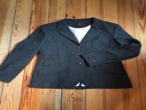 Tweed- Blazer in Grau
