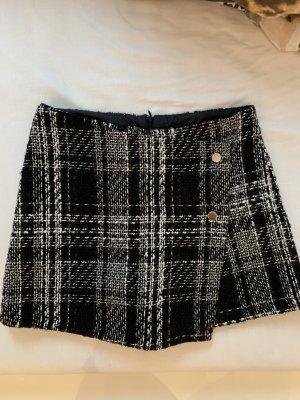 Amisu Tweed rok veelkleurig