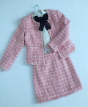 Business Suit pink-white
