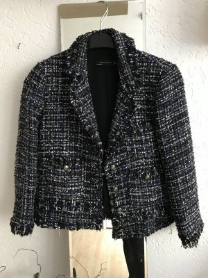 Zara Blazer en tweed multicolore