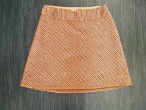 Nile Miniskirt dark orange mixture fibre