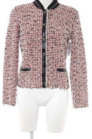 Blazer in tweed Motivo schizzi di pittura Stile anni '20
