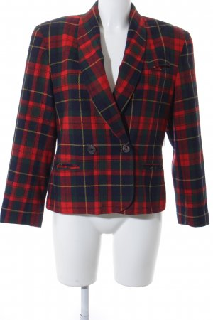 Tweedblazer Karomuster Brit-Look