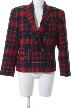 Tweed Blazer check pattern Brit look