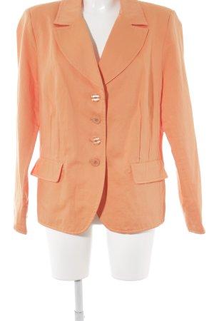 Tweed Blazer orange casual look