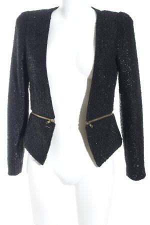 Tweedblazer schwarz Business-Look