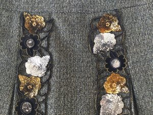 Miu Miu Tweed rok veelkleurig