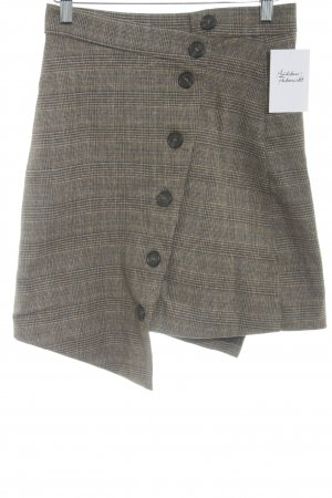 Tweed rok glencheck patroon casual uitstraling