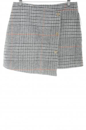 Tweed rok pied-de-poule patroon casual uitstraling