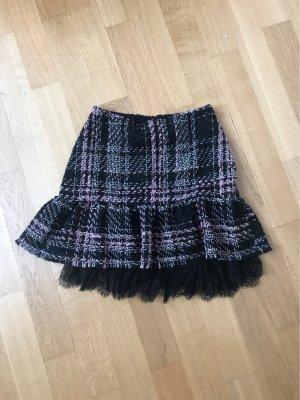 Zara Tweed rok veelkleurig
