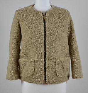 Blouse Jacket beige synthetic