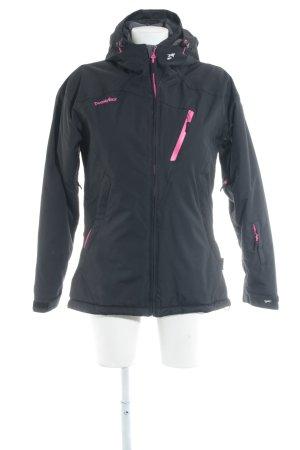 Twenty Four Outdoorjacke schwarz-pink Casual-Look