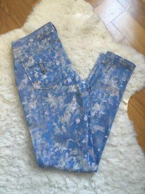 Twenty8twelve blau Hose jeans w27 36 38 grau weiß Lily and Lionel