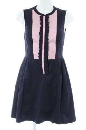 Twenty8twelve Dirndl bleu foncé-rose clair style campagnard