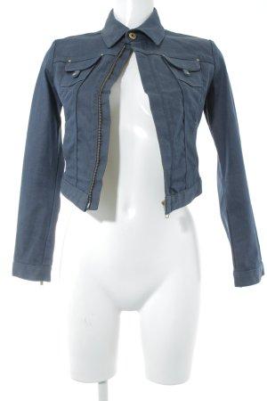 Twenty8twelve Jeansjacke dunkelblau Jeans-Optik