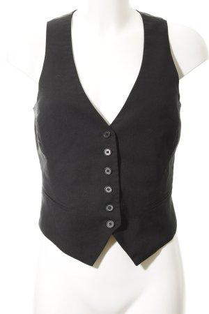 Twentyone Gilet de costume noir style d'affaires