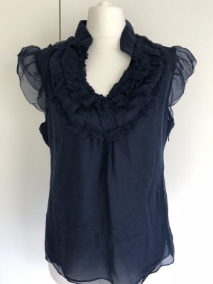 Forever 21 Mouwloze blouse donkerblauw Polyester