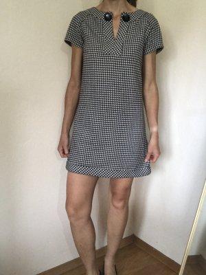 Hallhuber Mini-jurk zwart-wit
